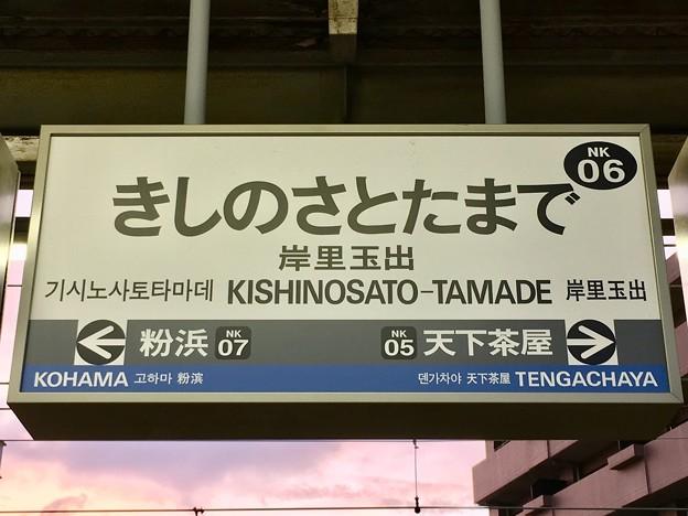 岸里玉出駅 KISHINOSATO-TAMADE Sta.