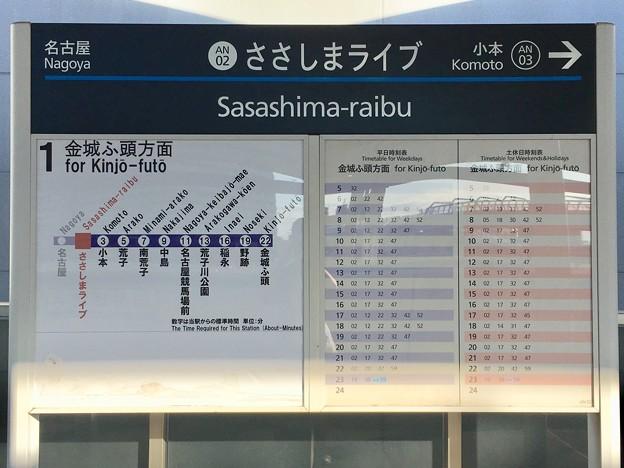 ささしまライブ駅 Sasashima-raibu Sta.