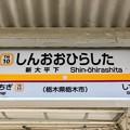 Photos: 新大平下駅 Shin-ohirashita Sta.