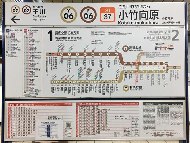 小竹向原駅 Kotake-mukaihara Sta.