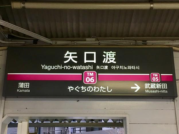 矢口渡駅 Yaguchi-no-watashi Sta.