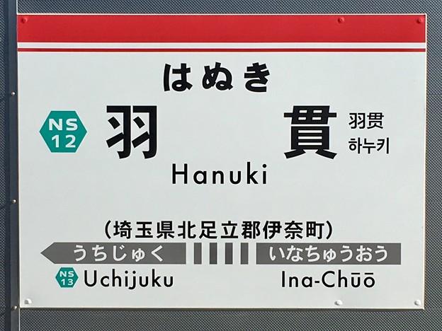 Photos: 羽貫駅 Hanuki Sta.