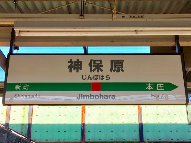 神保原駅 Jimbohara Sta.