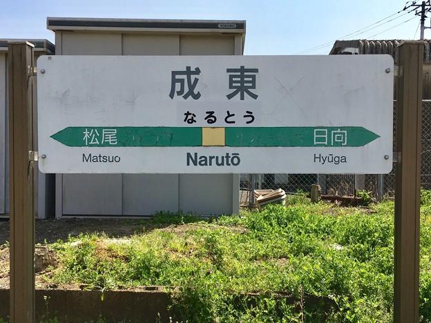 成東駅 Naruto Sta.