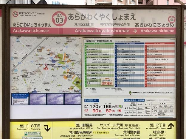 荒川区役所前停留場 Arakawa-kuyakushomae Sta.