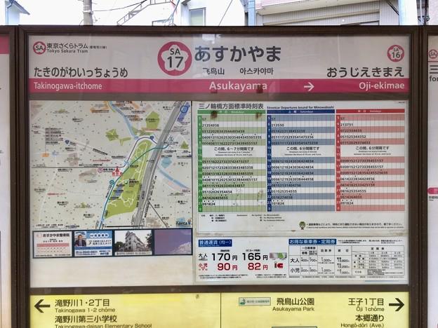 飛鳥山停留場 Asukayama Sta.