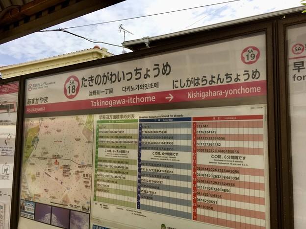 滝野川一丁目停留場 Takinogawa-itchome Sta.