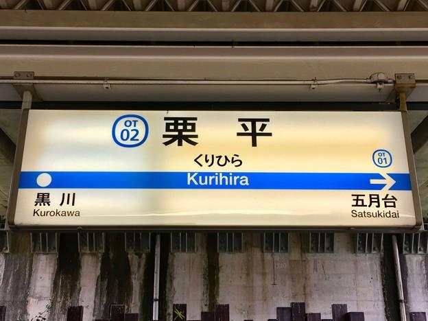 栗平駅 Kurihira Sta.