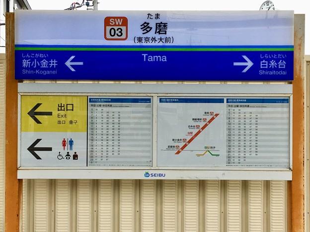 多磨駅 Tama Sta.