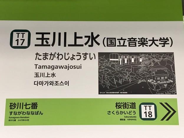 玉川上水駅 Tamagawajosui Sta.
