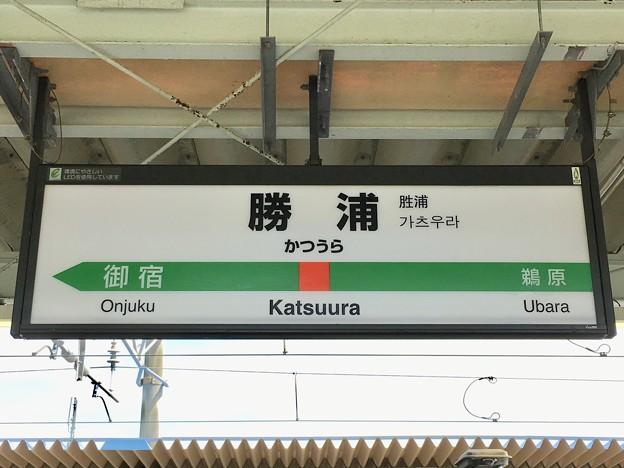 勝浦駅 Katsuura Sta.