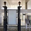 雀宮駅 鐵道院時代から残る鉄柱