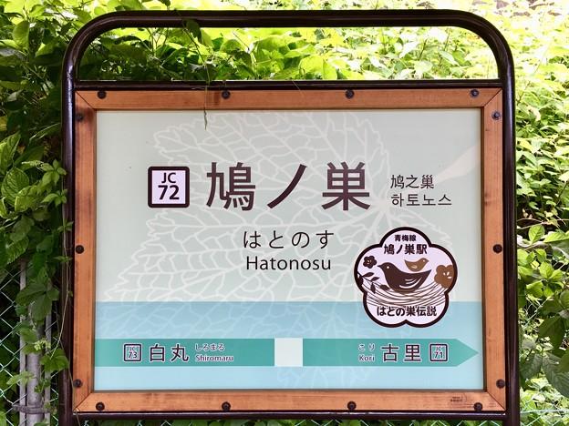 鳩ノ巣駅 Hatonosu Sta.