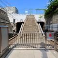 Photos: 岩屋駅 東口を繋いでいた階段