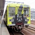 Photos: 鹿島臨海鉄道6000形 (クリーニング専科ラッピング)