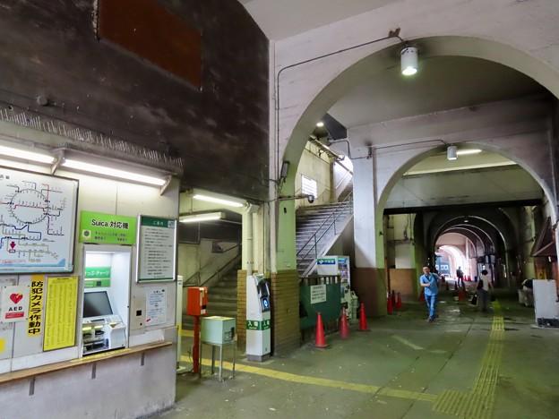 国道駅 改札口