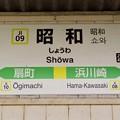 昭和駅 Showa Sta.