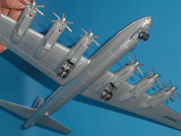 その4: 「富嶽」旅客機型 「日本航空」所属機 太平洋航路 羽田発、サンフランシスコ空港直行便 1947年