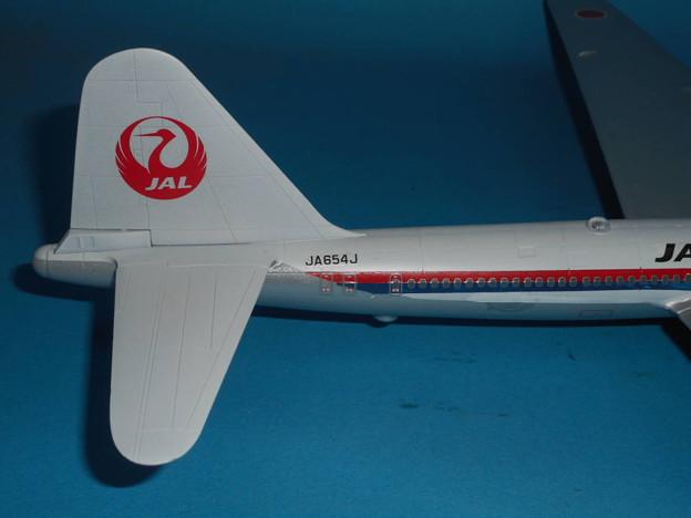 その5: 「富嶽」旅客機型 「日本航空」所属機 太平洋航路 羽田発、サンフランシスコ空港直行便 1947年