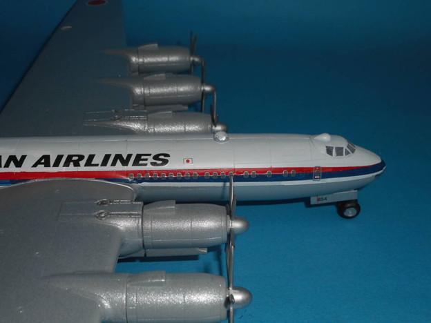 その6: 「富嶽」旅客機型 「日本航空」所属機 太平洋航路 羽田発、サンフランシスコ空港直行便 1947年