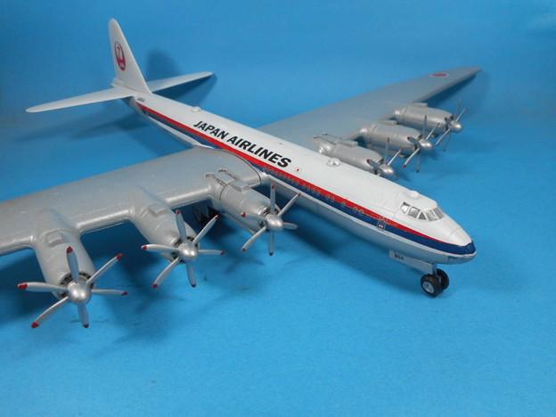 その7: 「富嶽」旅客機型 「日本航空」所属機 太平洋航路 羽田発、サンフランシスコ空港直行便 1947年