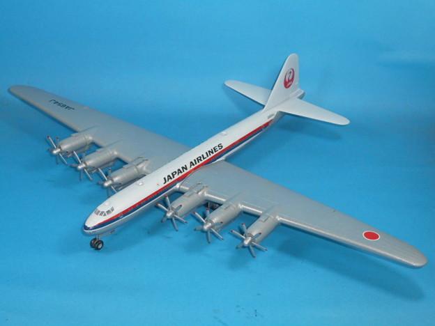 その8: 「富嶽」旅客機型 「日本航空」所属機 太平洋航路 羽田発、サンフランシスコ空港直行便 1947年