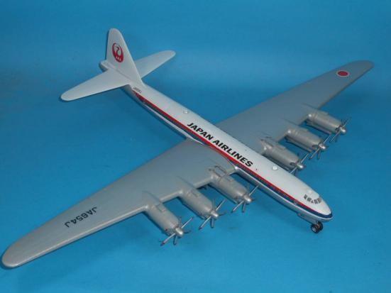 その10【終り】: 「富嶽」旅客機型 「日本航空」所属機 太平洋航路 羽田発、サンフランシスコ空港直行便 1947年