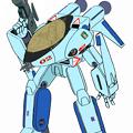 Photos: 【改訂版・ガウォーク形態】〔水色〕『VF-8A スペース・ローガン 』マリー・エンジェルス一般塗装