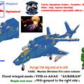 【腕脚ユニット削除】 VFH-10C 単座型 オーロラン