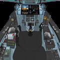 Block 2.5 可変戦闘機 「VFH- 10B  オーロラン」コックピット