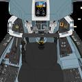 (Block 50)Block 45 改修 VFH-10Hオーロラン操縦席