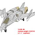 Photos: SAAB大気圏内中量級 可変戦闘機 VF-7N シルフィード