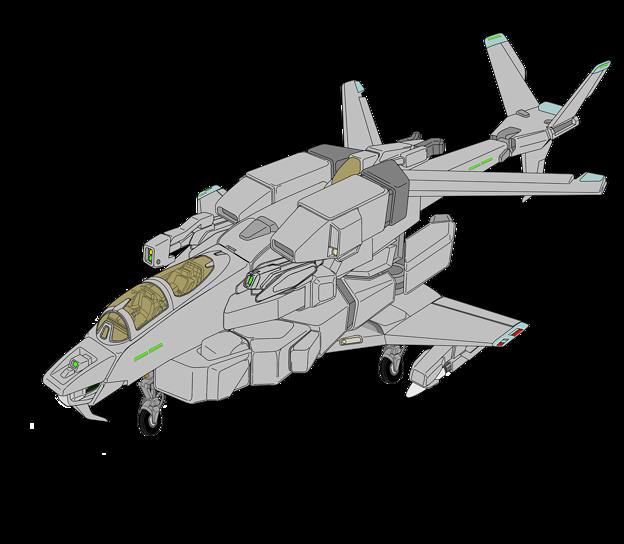 Photos: ガンポッド装備版 VFH-10G複座型 オーロラン