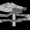 可変戦闘機オーロラン・上下回転翼〔フルセット〕