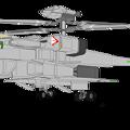 ジャイロダイン形態 可変戦闘機 VFH-10B オーロラン (クリーン状態)