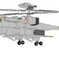 Photos: ジャイロダイン形態 可変戦闘機 VFH-10B オーロラン (クリーン状態)