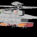 ジャイロダイン形態 VFH-12B スーパーオーロラン TLM-1 ミサイルコンテナx4