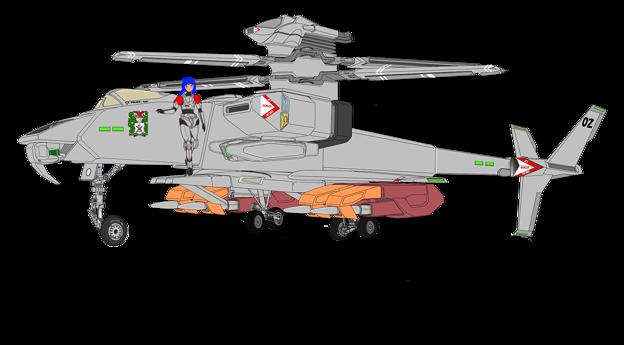 VFH-12B スーパーオーロラン (フェアリング付)