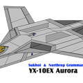 「YX-10EX オーロラ」(防空軍)