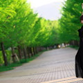写真: Beautiful Green&Black