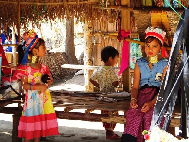 Thailand  Chiang Mai(バーン・トン・ルアン カレン族<少数民族>)
