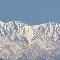 Photos: 白馬三山冬らしく。