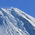 Photos: 崩れそうな山肌。