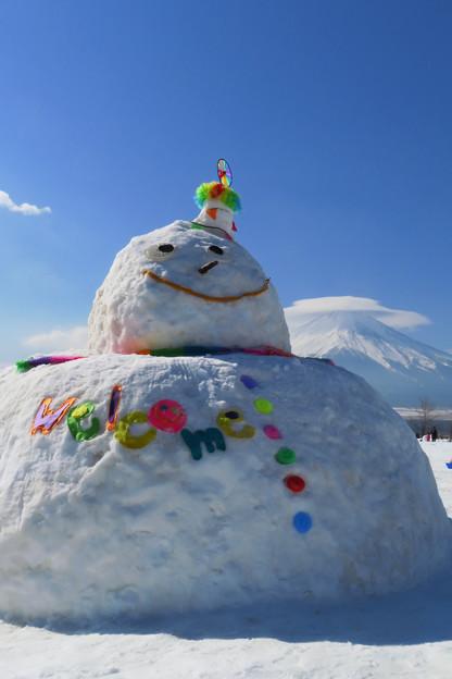 ビッグ雪ダルマン。