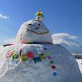 Photos: ビッグ雪ダルマン。