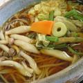 Photos: 山菜きのこそばにしましょ。