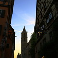 Photos: 夕空と教会のシルエット