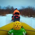 写真: Snow Rafting