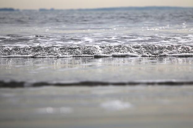 穏やかな波