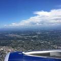 写真: ポートランド(オレゴン)上空